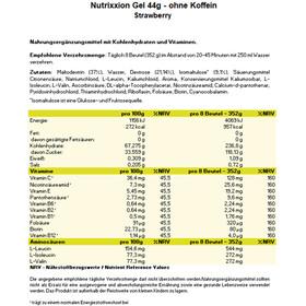 Nutrixxion Caja Geles Energéticos 24 x 44g